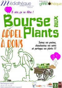 Evenement Fornex Bourse aux plants