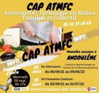 Evenement La Couronne Formation CAP ATMFC à Angoulême en Alternance ou en Formation Continue