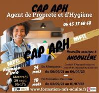 Evenement La Couronne Formation CAP APH à Angoulême en Alternance ou en Formation Continue