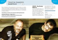 Evenement Mazères Trad'in Pamiers