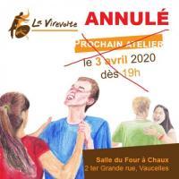 Evenement Retheuil ANNULÉ - Atelier de La Virevolte