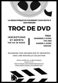 Evenement Fornex Troc de DVD