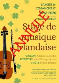 Evenement Saint André de Corcy Stage - Musique irlandaise