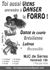 Evenement Laragne Montéglin Cours de forro
