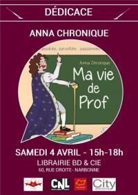 Evenement Sainte Valière Dédicace ANNA CHRONIQUE - Ma vie de prof