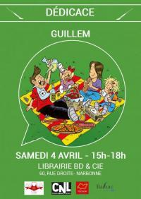 Evenement Luc sur Orbieu Dédicace GUILLEM - Joan etamp; Valentine T.3