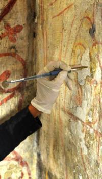 Evenement Gras Atelier autour des peintures murales de la cathédrale