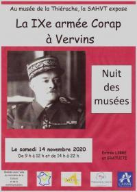 Evenement Wiège Faty Exposition : La 9e armée Corap à Vervins, de la drôle de guerre au 15 mai 1940