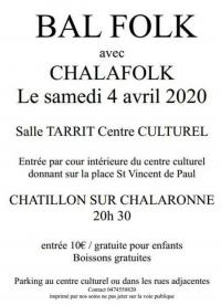 Evenement Saint Julien sur Veyle Bal Folk