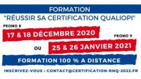 Evenement Le Broc Nice - Formation Réussir sa Certification QUALIOPI