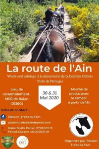 Evenement Villieu Loyes Mollon Le route de l'Ain