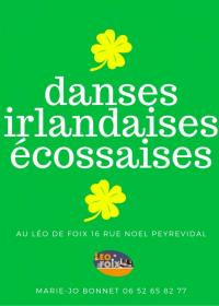 Evenement Calzan Atelier mensuel de Danses Irlandaises et Écossaises