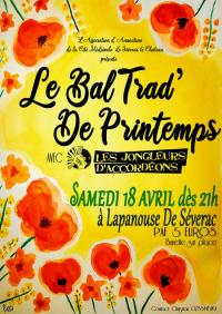 Evenement Prades d'Aubrac Bal Trad de Printemps