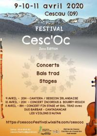 Evenement Augirein Festival Cesc'Oc
