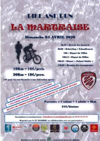 Evenement La Bastide du Salat Bike and Run La Martraise