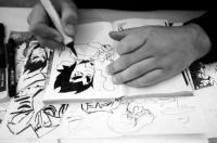 Evenement Pouzols Minervois Exposition D'une page à l'autre, la genèse d'un manga