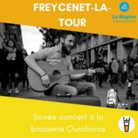Evenement Saint Julien Boutières Soirée concert à la brasserie Ouroboros