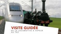 Evenement Mulhouse Visite guidée Découverte   De la locomotive à vapeur au TGV