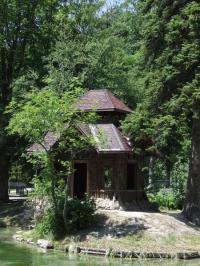 Evenement Puy Saint André Visite du parc de la Schappe et du chantier de restauration de sa pagode