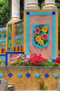 Evenement Castillon Visite du jardin Fontana Rosa