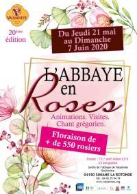 Evenement Revest Saint Martin L'Abbaye en Roses à Valsaintes