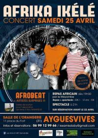 Evenement Belflou Soirée africaine