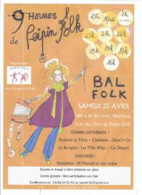 Evenement Clamensane 9 heures de Peipin Folk