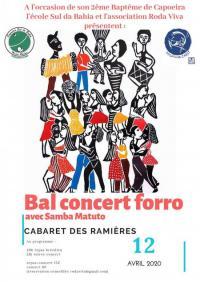 Evenement La Voulte sur Rhône annulée - soirée concert forró