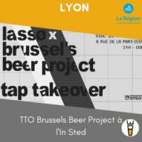 Evenement La Boisse TTO Brussels Beer Project à l'In Sted