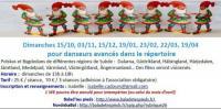 Evenement Gipcy ANNULE - Danses suédoises pour danseurs initiés au répertoire