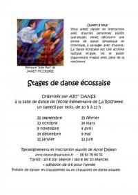 Evenement Randens Stage de danse écossaise