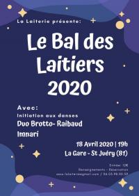 Evenement Lestrade et Thouels Le Bal des Laitiers 2020