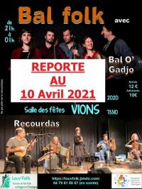 Evenement Lochieu Stage danses Sud-Ouest etamp; Bal Folk avec Bal O'Gadjo