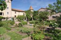 Evenement La Chabanne Visite du jardin médiéval de St Haon le Chatel (Loire)