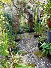 Evenement Asperjoc Découverte d'un jardin exotique et urbain au coeur de l'Ardèche
