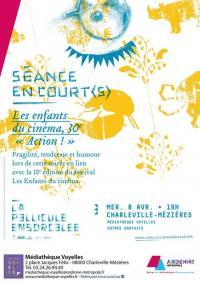 Evenement Mondigny Séance en court(s) : Les enfants du cinéma 30ème Action !