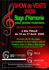 Evenement Montfuron STAGE DE VENTS 2020