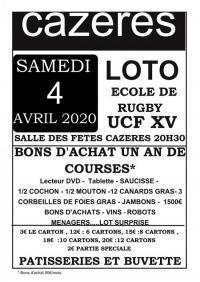 Evenement Fornex Loto de l'école de rugby UCF XV Cazères