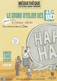 Evenement La Palud sur Verdon Le grand atelier des 48H BD : un Spécial roman-photo!