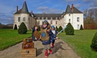 Evenement Verdilly Chasses aux trésors des Condé dans le parc du château des princes