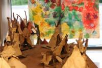 Evenement Betchat Exposition des créations des élèves dans le cadre de La classe, l'oeuvre !