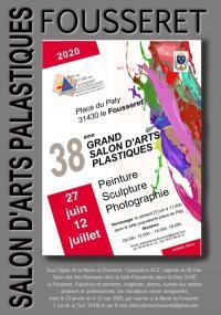 Evenement Cazères SALON D'ARTS PLASTIQUES du FOUSSERET