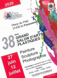 Evenement Cazères 38ème Grand Salon d'Arts Plastiques du Fousseret