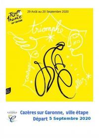 Evenement Cazères Tour de France 2020 - Etape Cazères - Loudenvielle