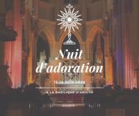 Evenement Pure Nuit d'adoration à la basilique d'Avioth