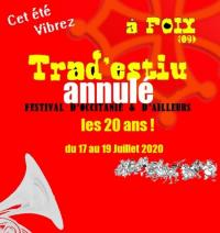 Evenement Prayols [ANNULE]  etlt;strikeetgt;Festival Trad'Estiuetlt;/strikeetgt;