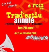 Evenement Tarascon sur Ariège [ANNULE]  etlt;strikeetgt;Festival Trad'Estiuetlt;/strikeetgt;