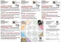 Evenement Verdun sur Garonne Journée du ménage informatique cleaning day numérique / Jorn del recapte informatic à destination du grand public