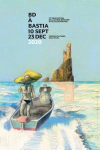 Evenement Corse BD à Bastia 2020, 27e rencontres de la bande dessinée et de l'illustration