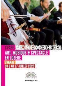 Evenement Balsièges Stage Arts Musique et Spectacle en Lozère - Session 1